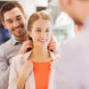 Man Putting Necklace on Woman | How To Pick Out The Best Jewelry Gifts For A Loved One