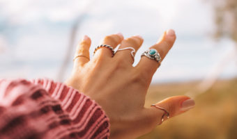 Hands With Rings   Does Costume Jewelry Really Turn Your Skin Green?