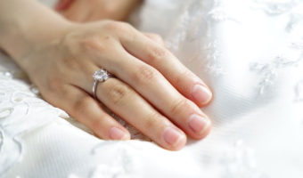 Hand with Ring | What Is Rhodium Plated Jewelry & Is It Safe To Wear?