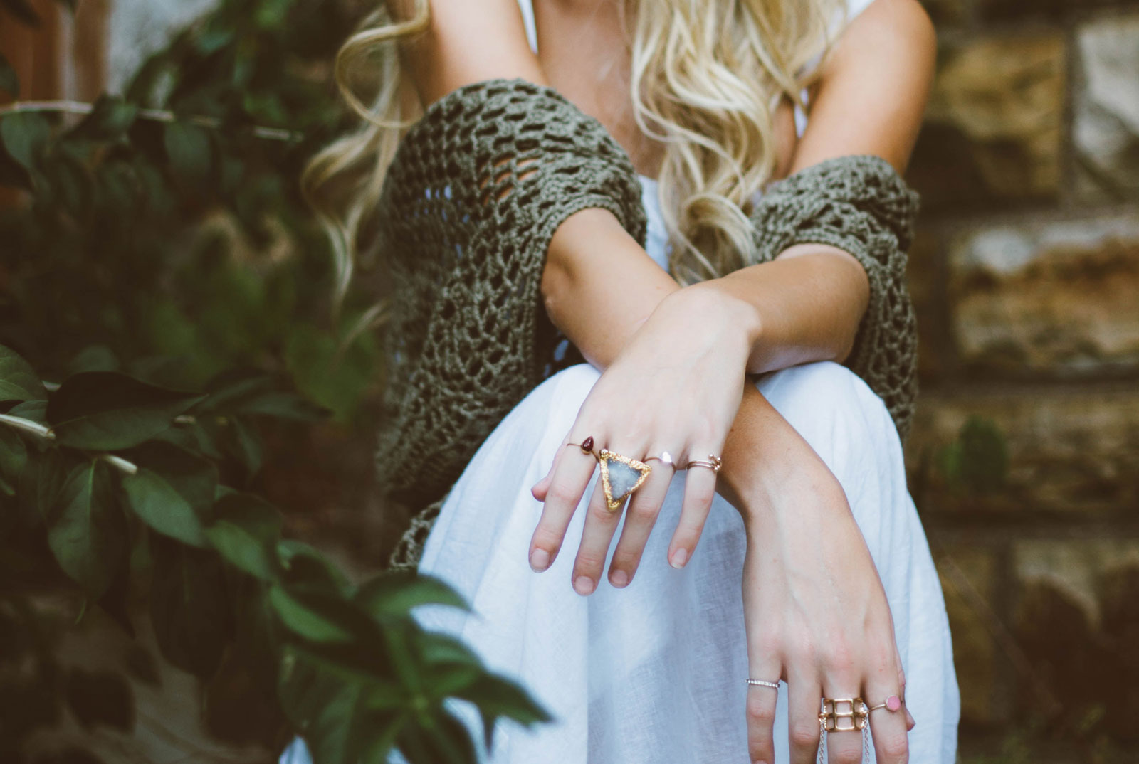 Hands With Rings | Does Costume Jewelry Really Turn Your Skin Green?